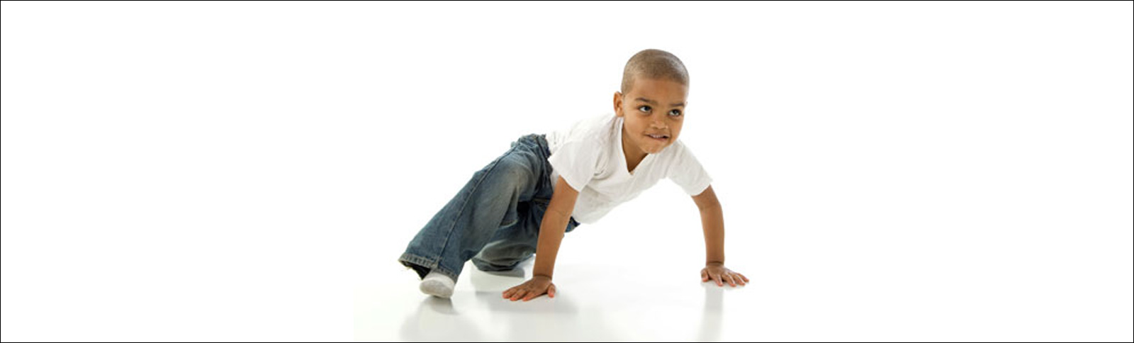 Young Breakdancing Boy